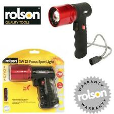 Rolson Handheld Home Torches with 3 Batteries