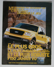 FORD F150 2003 dealer brochure - French - Canada - ST1002000418