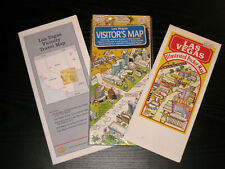 Las Vegas Visitor Maps and a Vicinity Travel Map