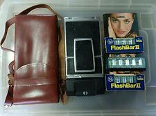Polaroid SX-70 land camera sonar onestep with leather bag (USED)