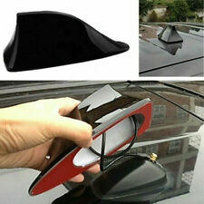 Black Shark Fin Styling Roof Radio AM/FM Signal Aerial Antenna Car SUV Universal