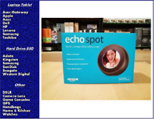 Amazon Echo Spot Smart Assistant - Black, New, Sealed in retail packaging