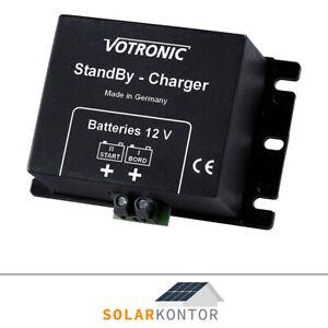 VOTRONIC 12V Standby Charger zur Wohnmobil Batterie Erhaltungsladung - 3065