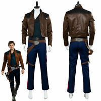 Solo A Star Wars Story Han Solo Cosplay Costume Suit Uniform Outfit