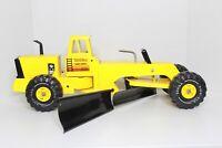 Mighty Tonka Turbo Diesel Road Grader, Yellow w/Side Blade, XMB-975
