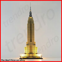 LED Light Up Kit For LEGO 21046 Architecture Empire State Building Blocks Light