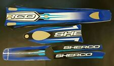 SHERCO 125 250 290 FULL GRAPHICS KIT DECAL SET 2000 2005 trials bike