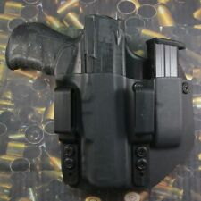 Hunt Ready Holsters: Walther PPQ M2 40 IWB Holster with Extra Mag Carrier