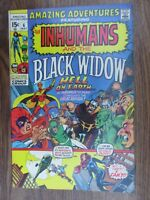 Amazing Adventures 6 Featuring The Inhumans and the Black Widow  Neal Adams Art
