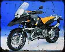 Bmw R1150Gs Adv 2 A4 Photo Print Motorbike Vintage Aged