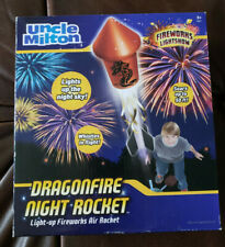 UNCLE MILTON  DRAGONFIRE NIGHT ROCKET TOY  Brand New!