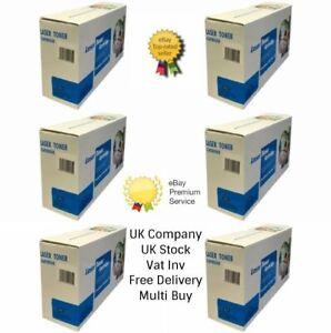 6 x Black Compatible Toner Cartridge 051H for Canon i-SENSYS MF264dw printer