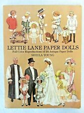 New ListingLettie Lane Paper Dolls Book 1910 Reproductions Uncut Unused Sheila Young 1981