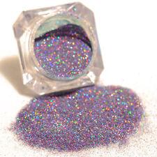 purple Holographic Holo Laser Powder Glitter Nail Art Manicure Dust Pigment 1g