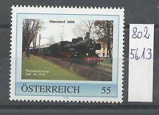 """Österreich PM personalisierte Marke Eisenbahn """"Weihnachtszug OBERNDORF"""" **"""