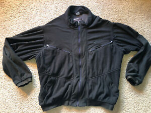 Simms Windstopper Fleece Jacket Men's XL Olive Green Full Zip