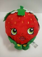 """Shopkins Strawberry Kiss Plush 11"""" Large Brand New with Tag."""