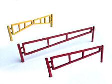 LASER CUT SWING ARM SECURITY GATES OO GAUGE MODEL RAILWAY 1:76 OO SCALE LX025-OO