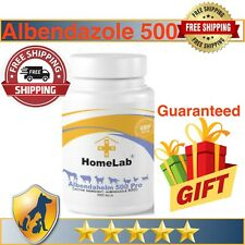 100-500 Tab Albendahelm 500 Dewormer For Dogs Anthelmintic Panacur Tapeworm