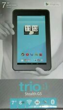 "Trio Stealth Tablet G5 7"" Quad Core WI-FI BlueTooth Camera 8GB Expandable Memory"