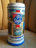 OLD STYLE BEER STEIN - 1987 Limited Edition Breweriana Advertising