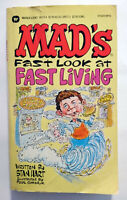 WARNER | MAD'S FAST LOOK AT FAST LIVING - HART & COKER | (REISSUE 1987) | Z 2