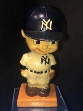 Vintage 1960's MLB New York Yankees Bobble Head Nodder Very Rare!