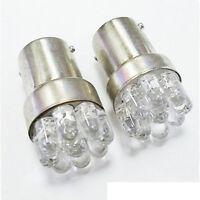2Pcs Car Bulbs G18/BA15S 67 5007 9 LED 1156 Lamp White LED Turn Signal Light Bh