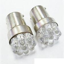 2Pcs Car Bulbs G18/BA15S 67 5007 9 LED 1156 Lamp White LED Turn Signal Light GE