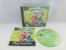 Playstation 1 PS1 PSX - Saban's Power Rangers La Force Du Temps