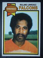 NFL 153 Rolland Lawrence Atlanta Falcons Topps 1979