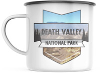 Death Valley California National Park 12 OZ Enamel Mug  Campfire  Mug Souvenir