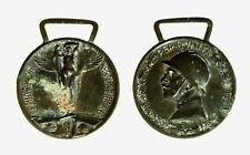 pcc2128_174) Medaglia 1915-18 Guerra x unità d'Italia Coniata nel bronzo nemico