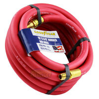 "Goodyear Rubber Air Hose 15' ft. x 3/8"" in. 250 PSI Air Compressor Hose 12175"