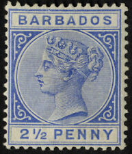 Barbados Single Stamps