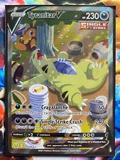 Pokemon Card   TYRANITAR V   Ultra Rare  155/163  BATTLE STYLES *MINT*
