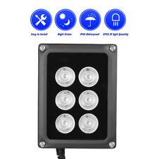 6 Array LED Illuminator IR 90m Infrared Vision Light Lamp for CCTV Camera P1T3