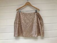 New INSPIRE By New Look Plus Size Sequin Short Tube Skirt - Size 20
