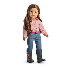 American Girl SAIGE PARADE OUTFIT jeans shirt boots cowgirl outfit NIB NO DOLL