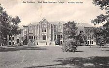 Indiana postcard Muncie, Ball State Teachers College, Arts Building