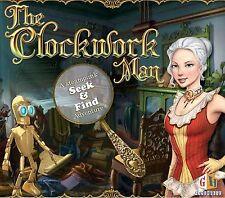THE CLOCKWORK MAN Hidden Object PC Game CD-ROM NEW
