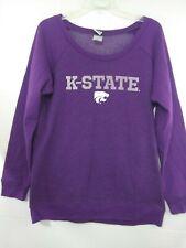 Kansas K State University Wildcats Sweatshirt Size Women's XL Purple NWT KSU