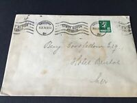 Norway 1924 stamps cover Ref R28738