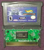 Hot Wheels Velocity X & World Race (Nintendo Game Boy Advance, 2005) GBA Gameboy