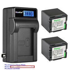 Kastar Battery AC Wall Charger for Panasonic CGA-DU21 CGR-DU21 NV-GS230 NV-GS250