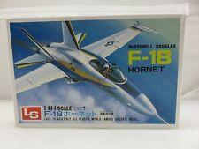 LS McDonnell Douglas F-18 HORNET 1/144 Scale Model Kit UNBUILT