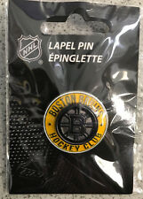 BOSTON BRUINS HOCKEY CLUB CLASS RING STYLE LAPEL PIN - NHL Licensed