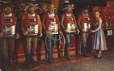 Cowboy slot machines in ~ Nevada Reno? Las Vegas? ~ 1960s