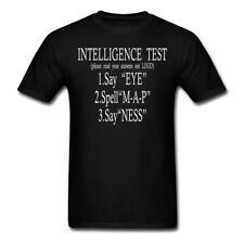 Intelligence Test Eye Map Ness Birthday party T Shirt USA SIZE S-3XL