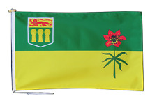 More details for saskatchewan canada flag with rope and toggle - various sizes